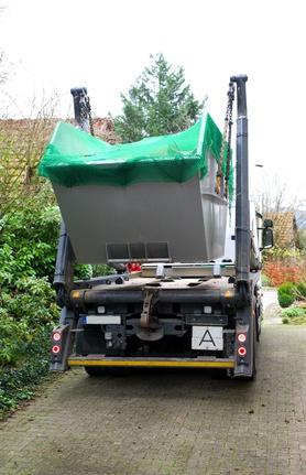 Container für Müllsortierung