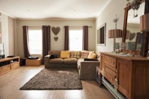 Wohnzimmer für die Haushaltsauflösung